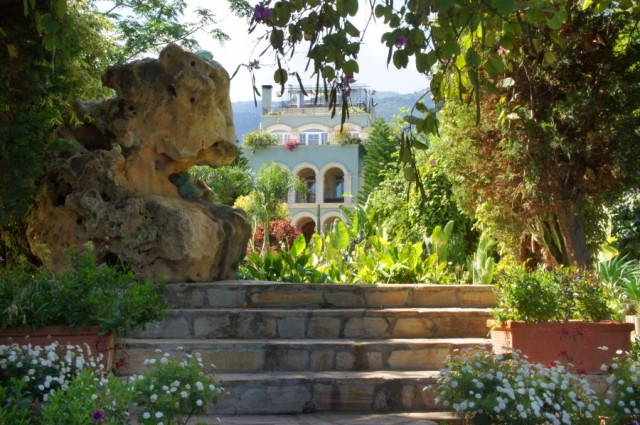 """The Babel gardens down the street from the Old Monastery, the place of our """"coffee fix"""" on a couple of occasions."""